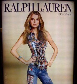 Actual Ralph Lauren Ad